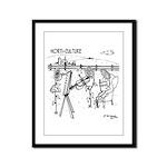 Horti-Culture Framed Panel Print