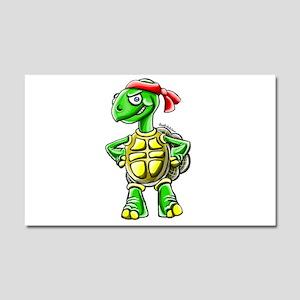 Ninja Turtle Tortoise Car Magnet 20 x 12