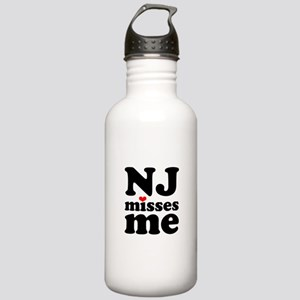 new jersey misses me Stainless Water Bottle 1.0L