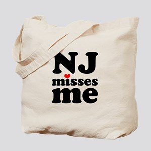 new jersey misses me Tote Bag