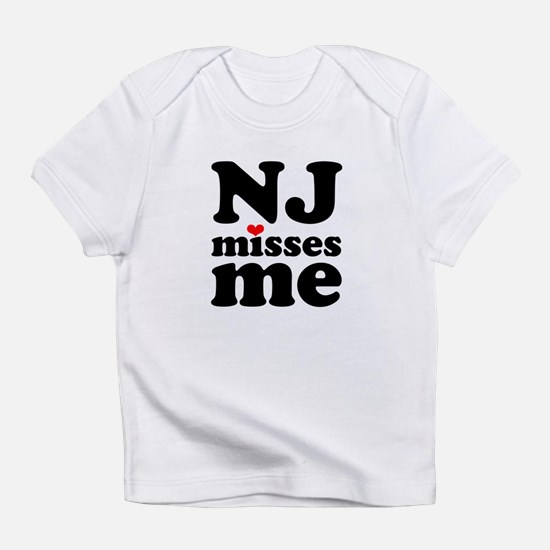 new jersey misses me Infant T-Shirt