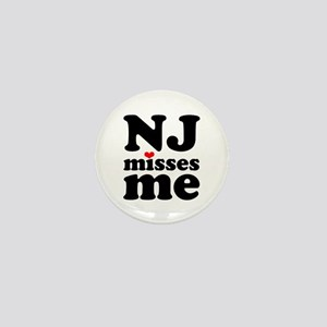 new jersey misses me Mini Button