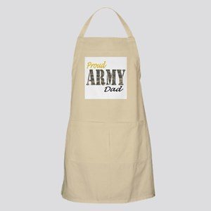 Proud army dad Apron