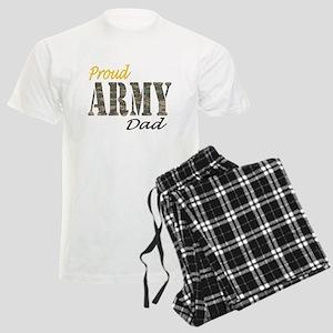 Proud army dad Men's Light Pajamas