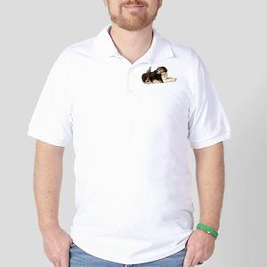 Quail Dog Golf Shirt