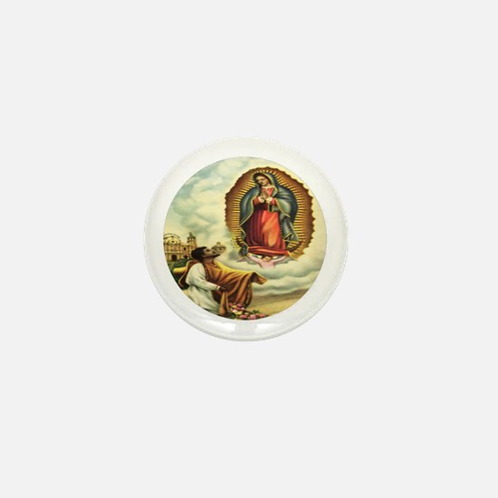 Our Lady of Guadalupe & Juan Diego Mini Button