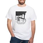 Mendel Studies Redwoods, Not Peas White T-Shirt