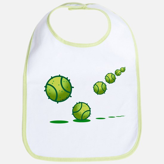 Tennis (s) Cotton Baby Bib
