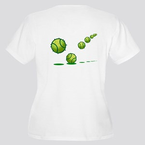 Tennis (s) Women's Plus Size V-Neck T-Shirt