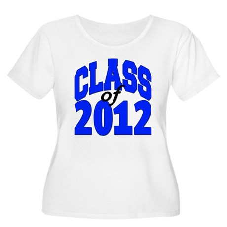 Class of 2012 Women's Plus Size Scoop Neck T-Shirt