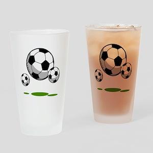 Soccer (9) Drinking Glass