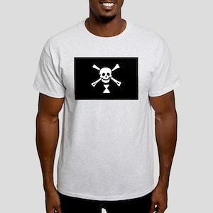 Flag of Emanuel Wynne Ash Grey T-Shirt