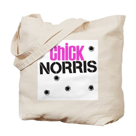 Chick Norris Tote Bag