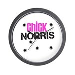 Chick Norris Wall Clock