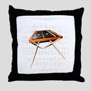 A Hemmer Dulcimer Throw Pillow