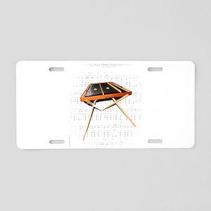 A Hemmer Dulcimer Aluminum License Plate
