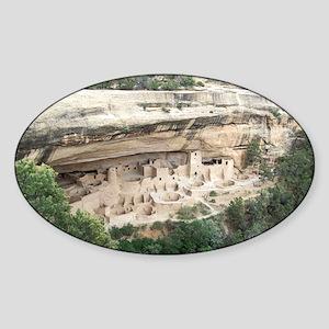 Mesa Verde National Park Sticker (Oval)