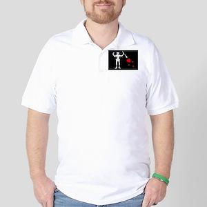 Flag of Blackbeard Golf Shirt