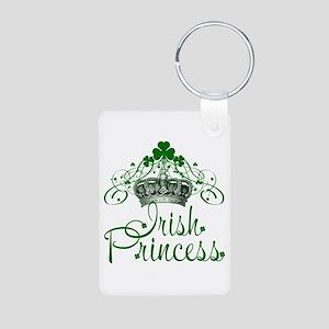 Irish Princess Aluminum Photo Keychain