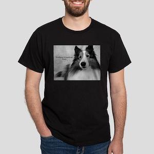 Shetland Sheepdogs Rock Dark T-Shirt