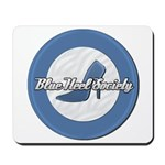 Blue Heel Society Mousepad