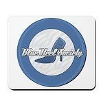 Blue Heel Society Mousepad