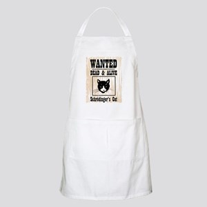 Wanted Schrodingers Cat Apron