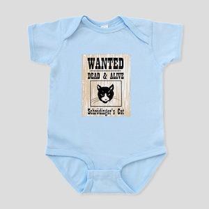 Wanted Schrodingers Cat Infant Bodysuit