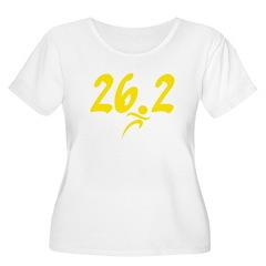 Yellow 26.2 marathon T-Shirt