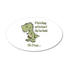 Happy TRex Wall Decal