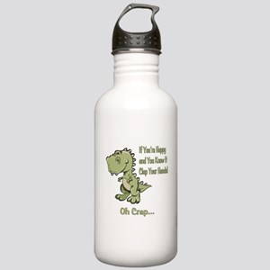 Happy TRex Stainless Water Bottle 1.0L