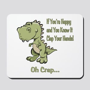 Happy TRex Mousepad