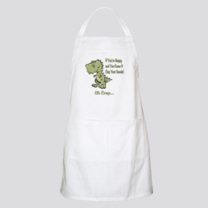Happy TRex Apron