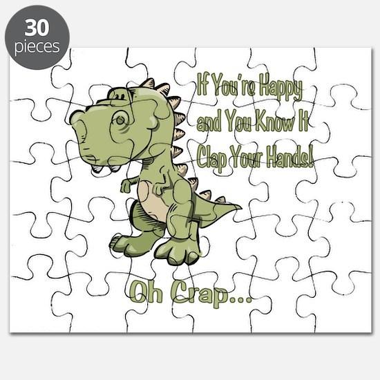 Happy TRex Puzzle