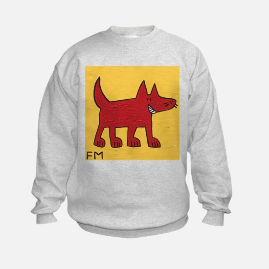 Red Dog Sweatshirt