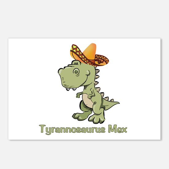 Tyrannosaurus Mex Postcards (Package of 8)