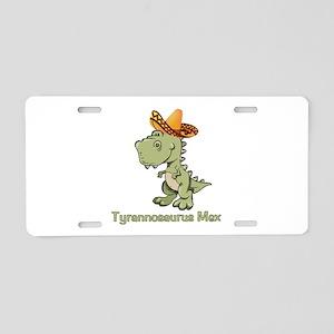 Tyrannosaurus Mex Aluminum License Plate