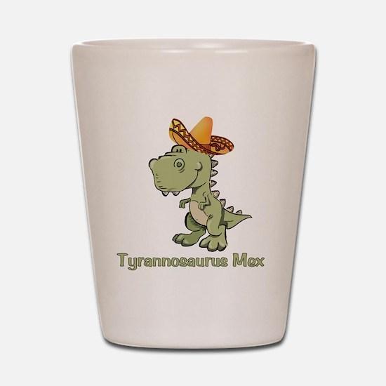Tyrannosaurus Mex Shot Glass