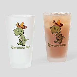 Tyrannosaurus Mex Drinking Glass