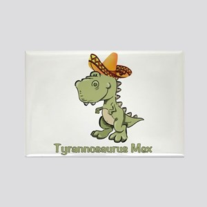 Tyrannosaurus Mex Rectangle Magnet