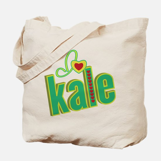 I heart kale Tote Bag