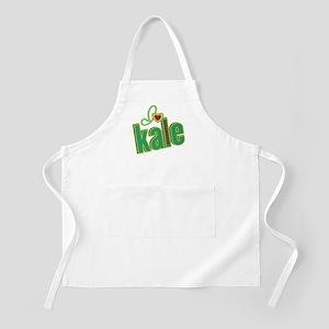 I heart kale Apron
