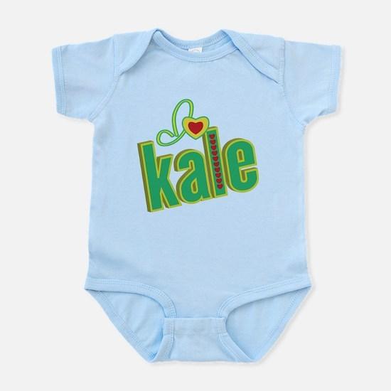 I heart kale Infant Bodysuit