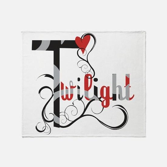 Twilight Saga Throw Blanket