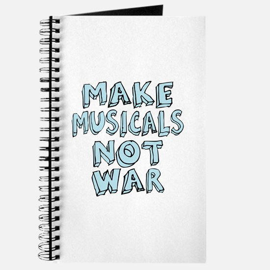 Make Musicals Not War Journal