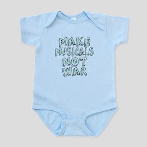 Make Musicals Not War Infant Bodysuit