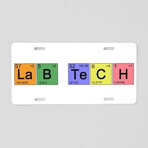 LaB TeCH Color Aluminum License Plate