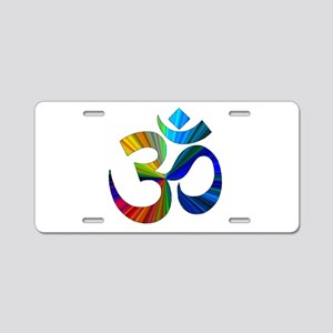 Om 2 Aluminum License Plate