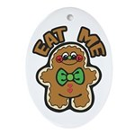 Eat Gingerbread Ornament (Oval)