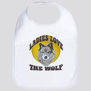 Ladies Love the Wolf Bib